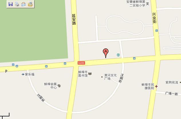 在google地图上定位